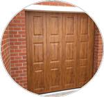 Porte de garage refoulement latéral La porte de garage latérale