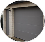 Porte de garage sur mesure dunkerque br stores - Porte de garage a refoulement plafond ...