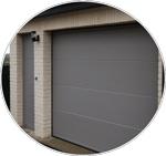 La porte de garage sectionnelle Porte de garage refoulement plafond