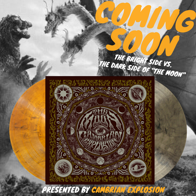 The Moon By Cambrian Explosion 2nd Press Is Ordered