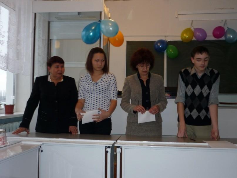 Праздник мам в 10 б классе, 2010 г.