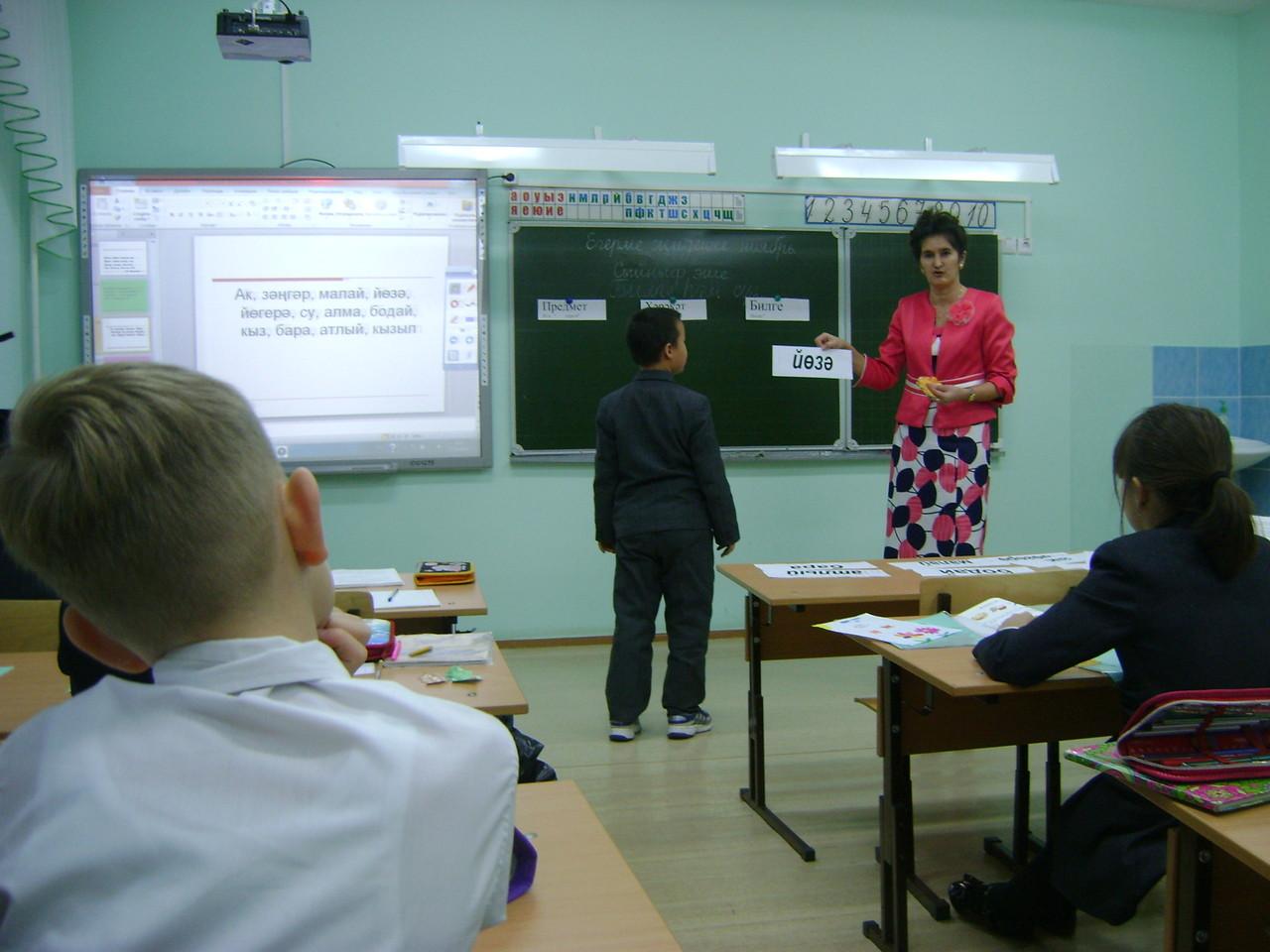 Районный семинар учителей татарского языка