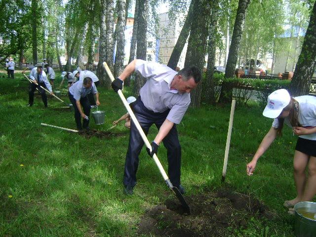 "15.05.14. Акция ""Посади дерево!"""