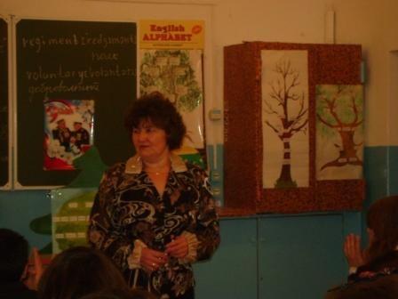 Галиева Р.А.провела открытый урок в 8б классе