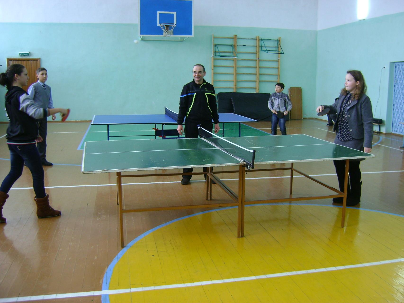 Соревнования по теннису. 6 класс