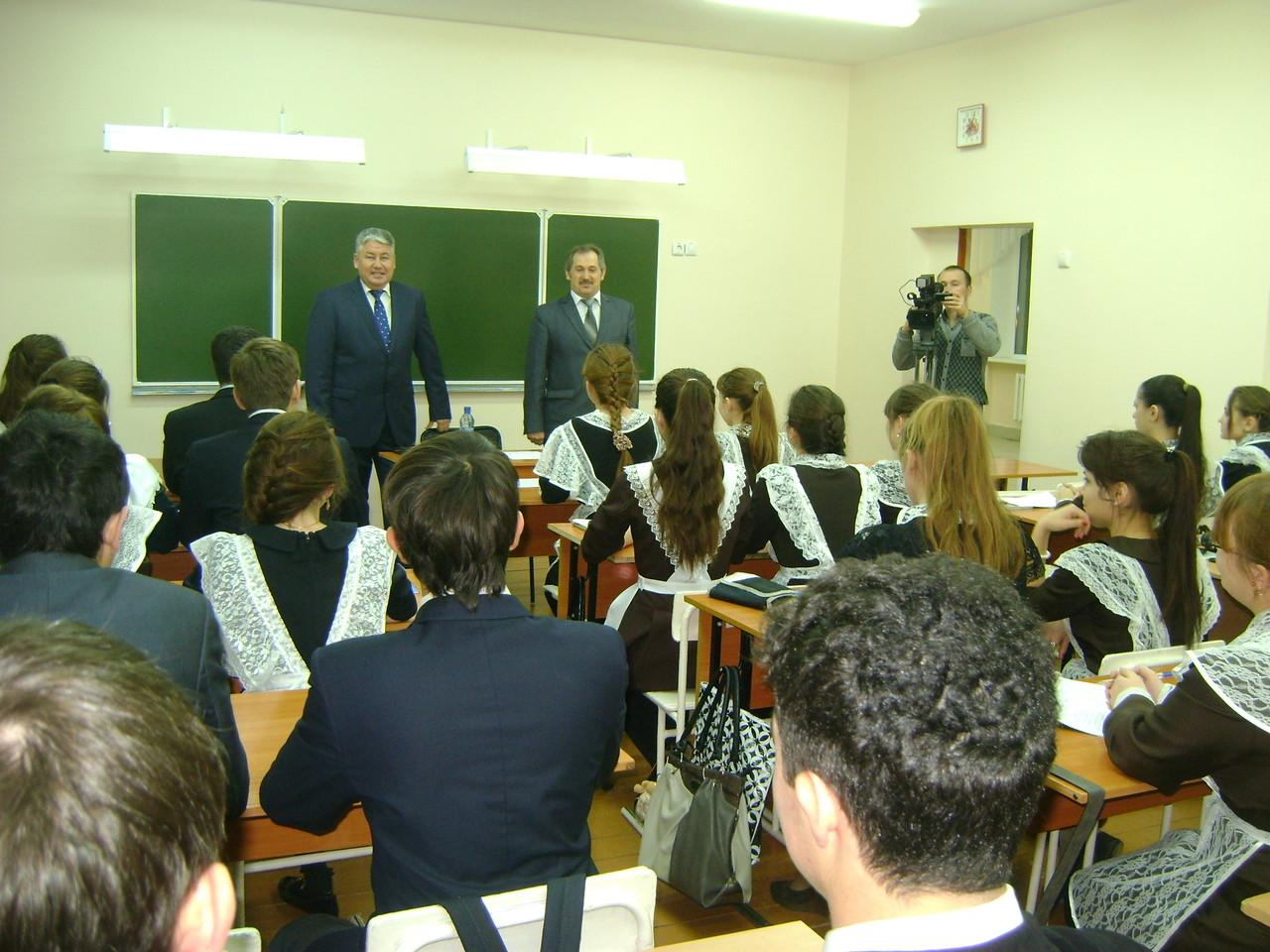 Встреча 11 класса с Вазигатовым И.А.