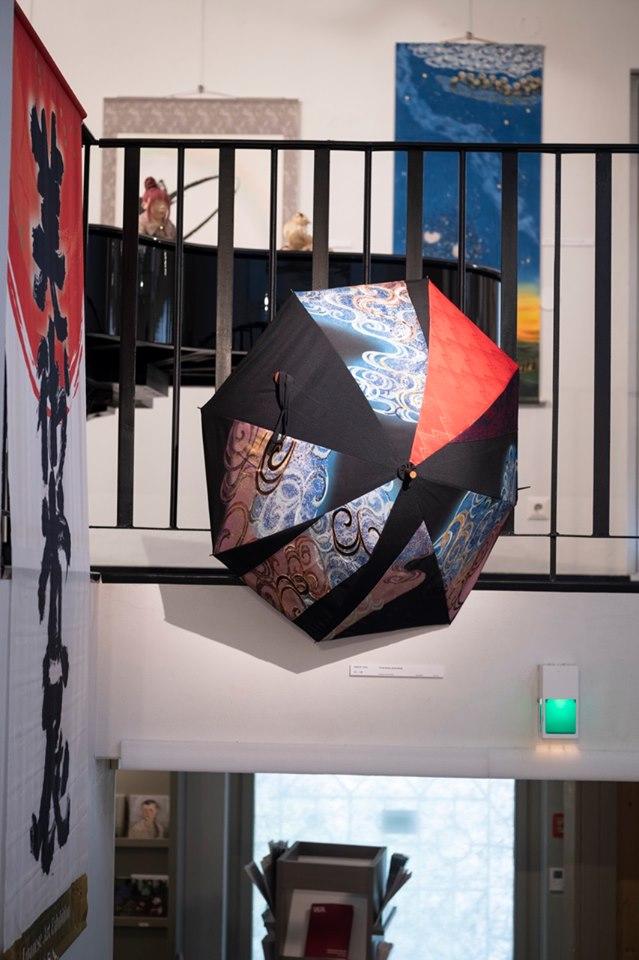 和 Wa Kansainvälinen Japanilaisen taiteen näyttely Alajärvellä(Facebookページ)より画像をお借りしました。