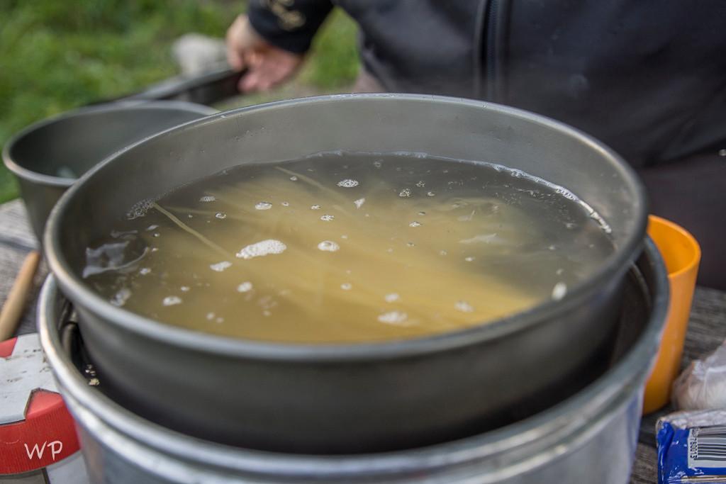 Mit Arlettes tollem Zubehör, brodelt bald das Spaghettiwasser