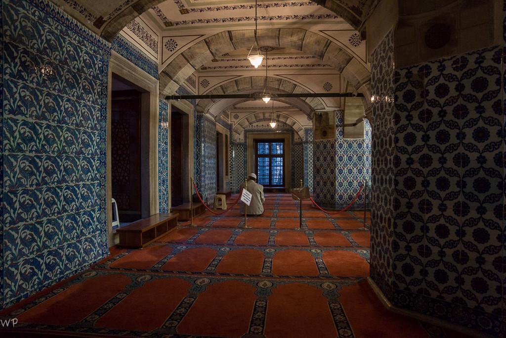 Besuch der kleinen Moschee