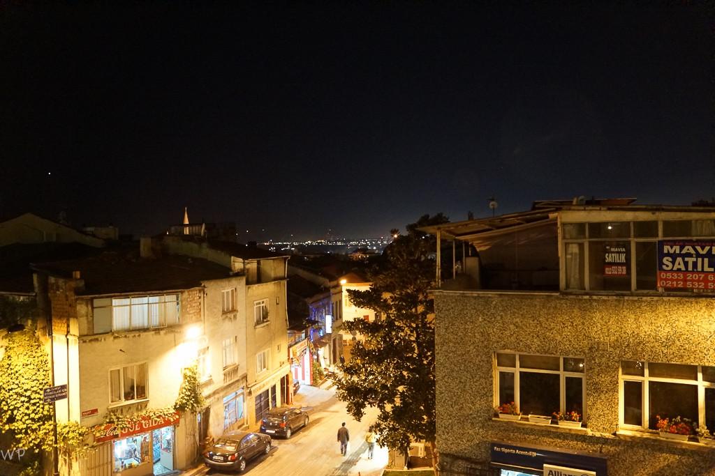 Sicht aus unserem Hotelzimmer