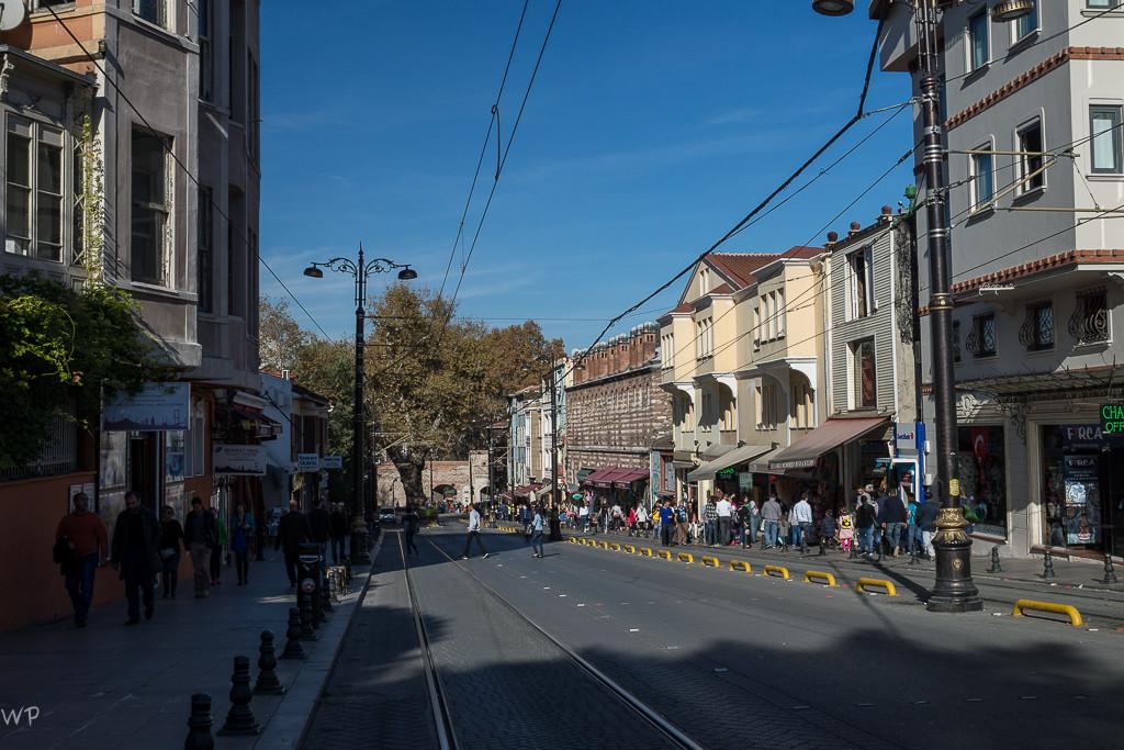 Auf den Strassen von Istanbul