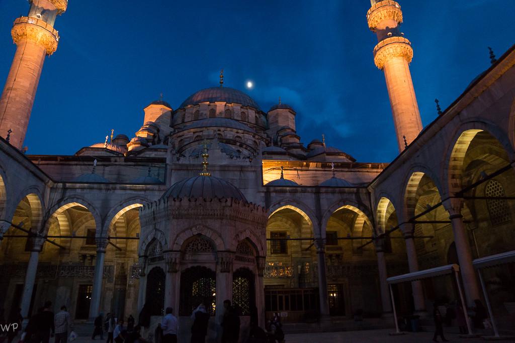 Besuch der Neuen Moschee