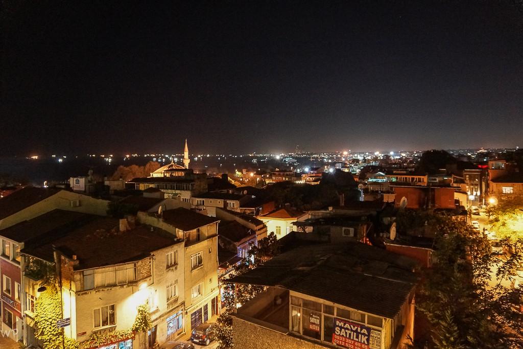 Über den Dächer von Istanbul