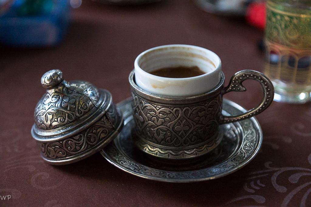 Der türkische Kaffee, natürlich ein muss