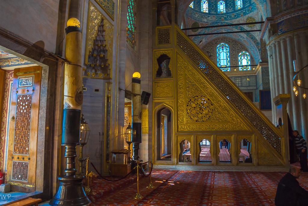 Die Lichtflut ist einmalig, praktisch in allen Moscheen
