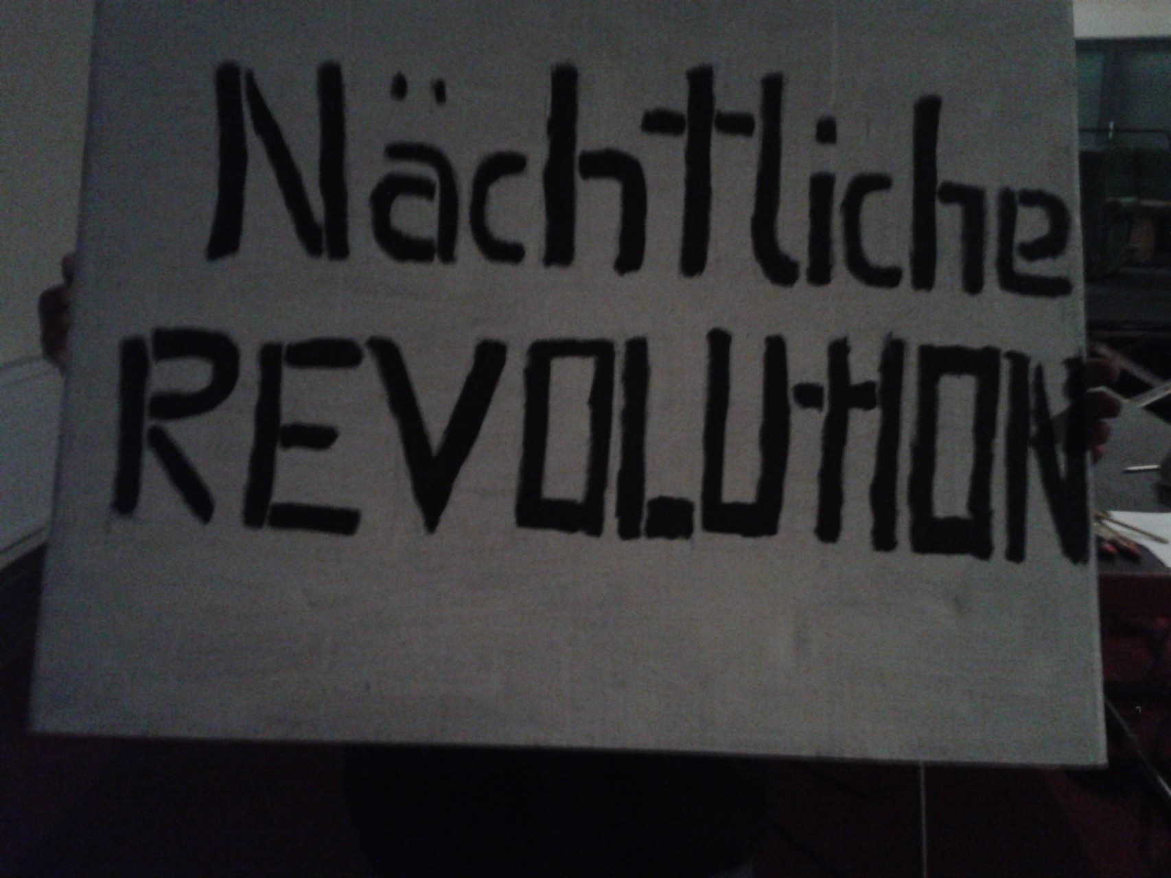 Subjekt: Mensch - Nächtliche Revolution