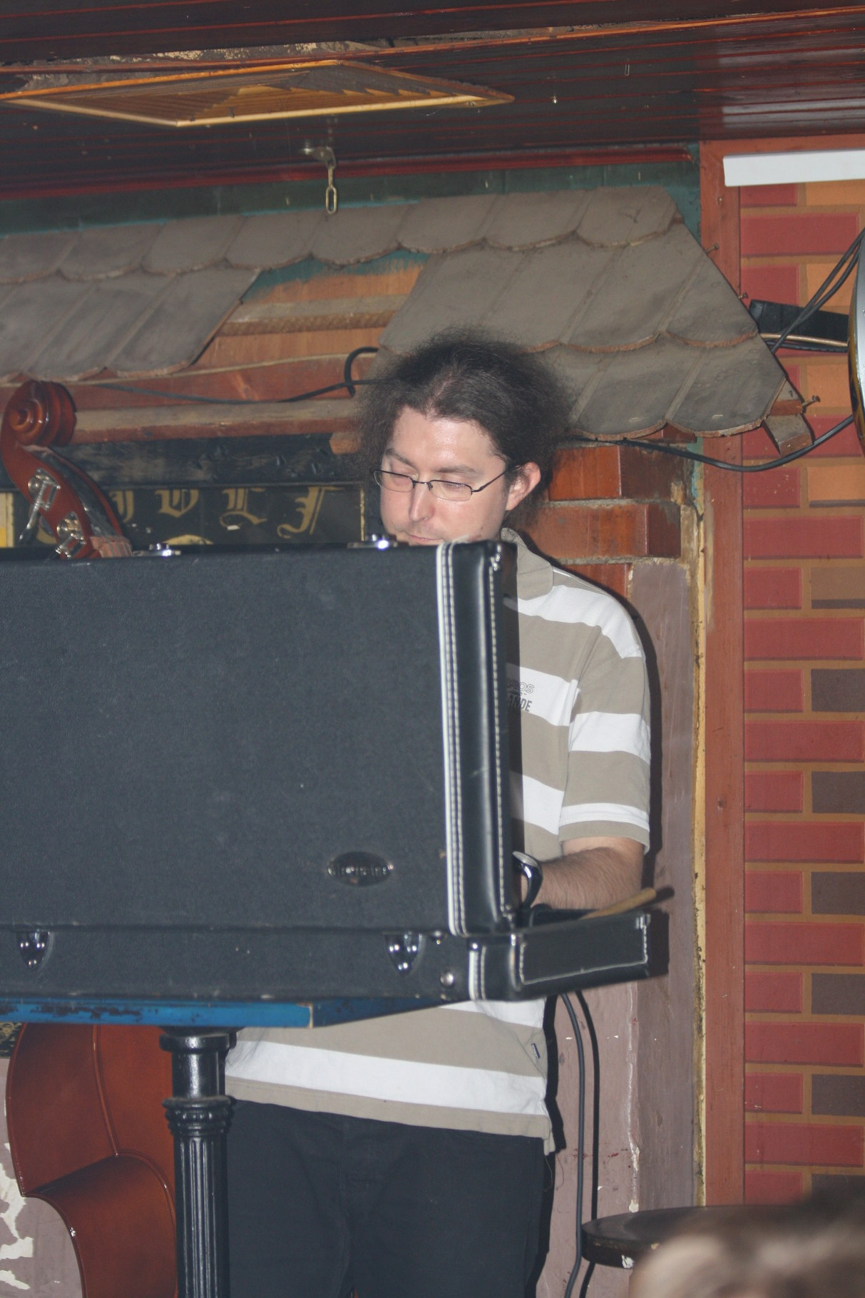 Unser Tontechniker Lars