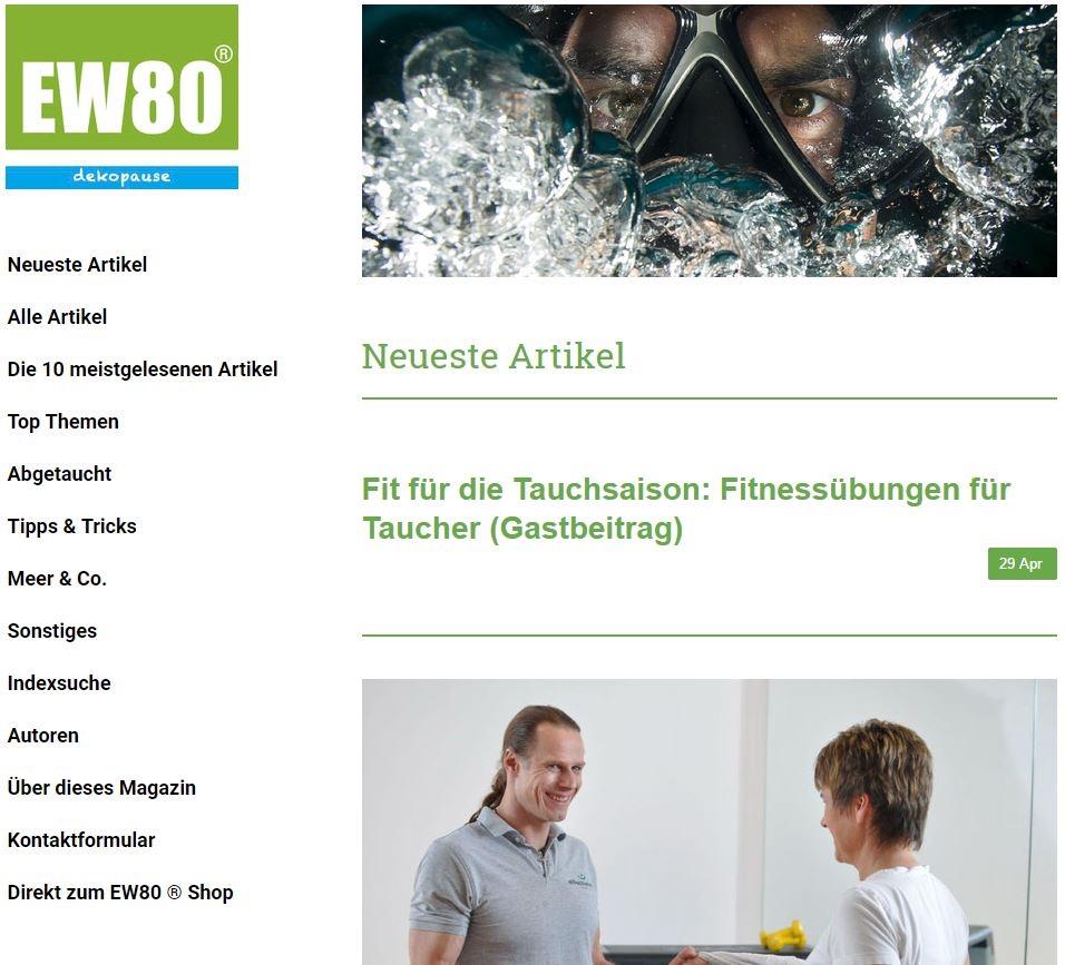 Alle Artikel EW80 dekopause! Das Onlinemagazin mit