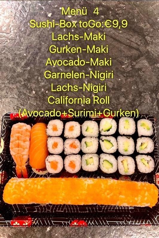 Sushi und Maki to Go