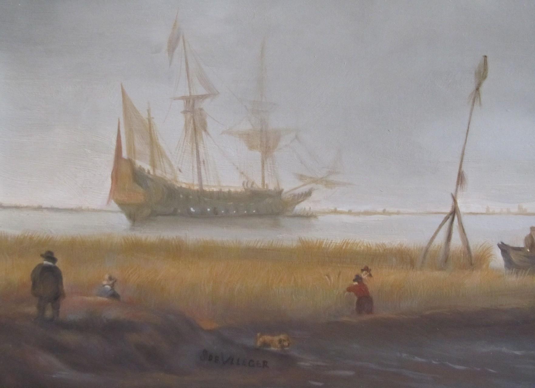 Simon de Vlieger, MEERESUFER(Fragment)