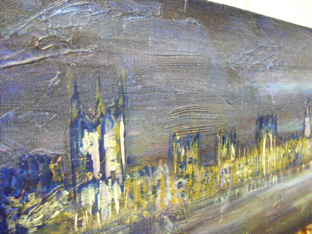 London Cityscape (close up).