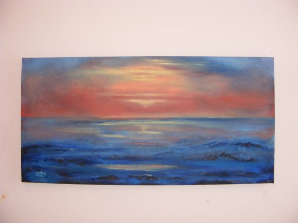 "Seascape (Cape Cod), 25"" x 35"". No longer available."