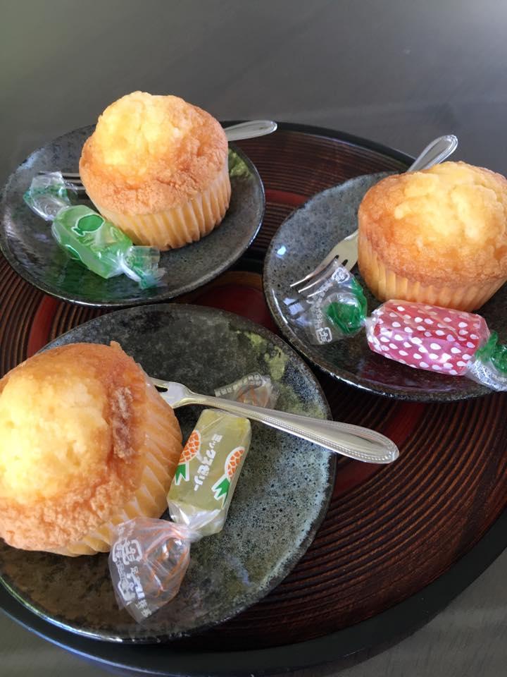 レモンカップケーキ&ひと口ゼリー