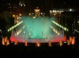 магический фонтан в Барселоне