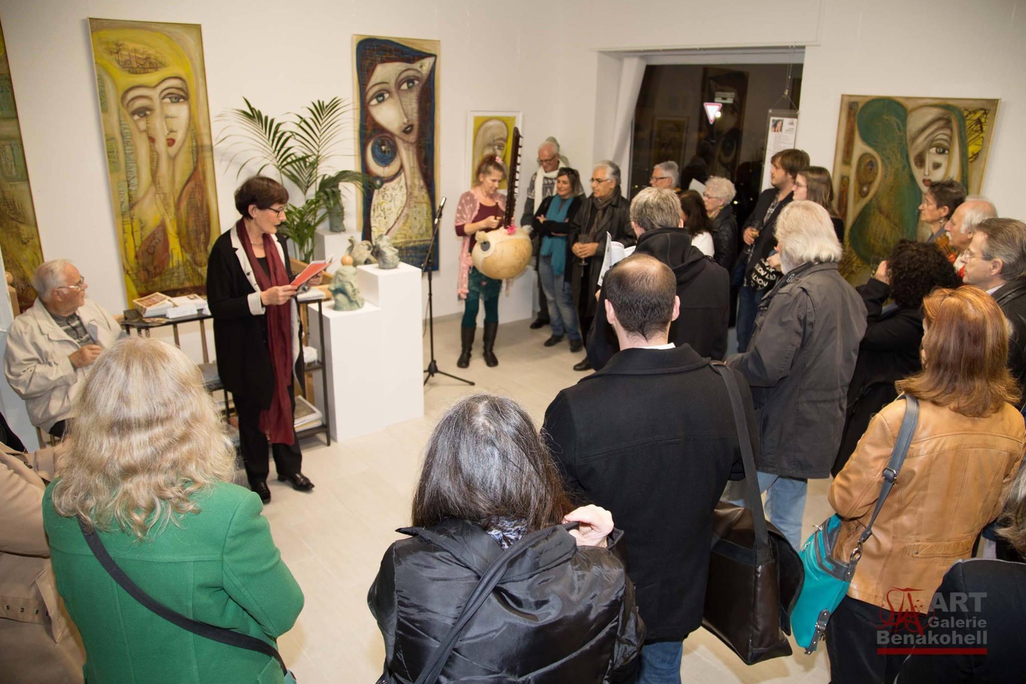 Ausstellungseröffnung Benakohell 2015