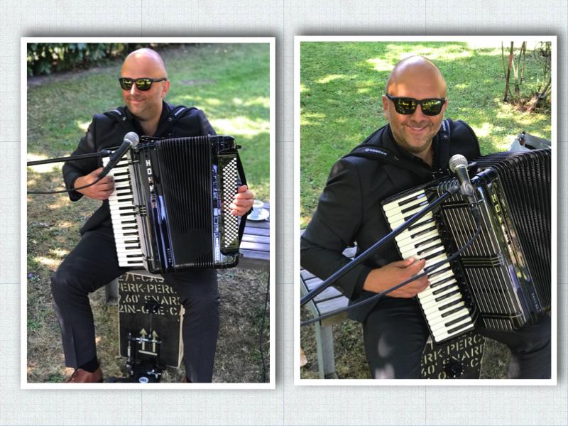 Der Kölner Akkordeonspieler