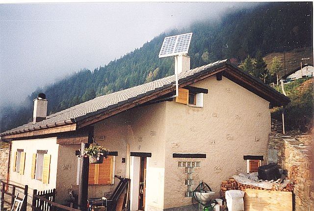 Ferienhaus in Aquarossa von Regort Solartechnik