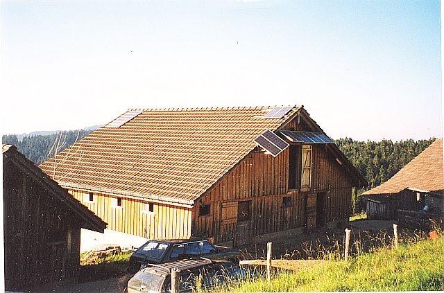 Inselanlage Alpstatt in Appenzell von Regort, Solartechnik