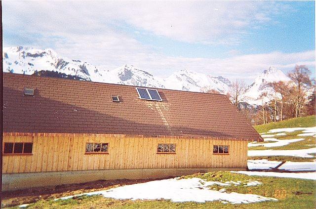 Inselanlage Alt St. Johann von Regort, Solartechnik