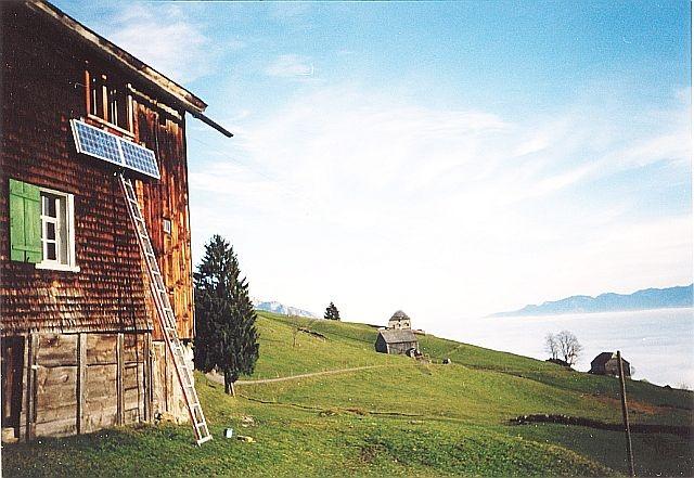 Inselanlage Ferienhaus Grabserberg von Regort Solartechnik