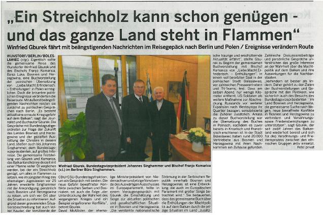 Wunstorfer Stadtanzeiger, 11. März 2017