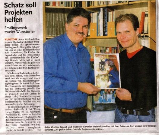 """Die HAZ in der regionalen Ausgabe """"Leine-Zeitung"""" vom 4. November 2010"""