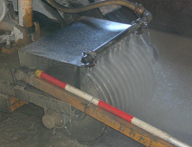 BSNG - Fräsen Rillen-Laufflächen