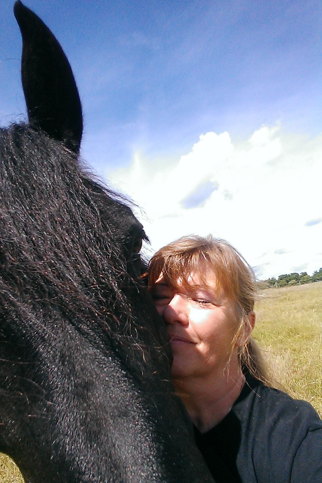 nichts riecht so toll, wie ein Pferd was man liebt.