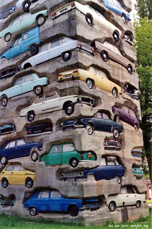 Long Term Parking by Arman