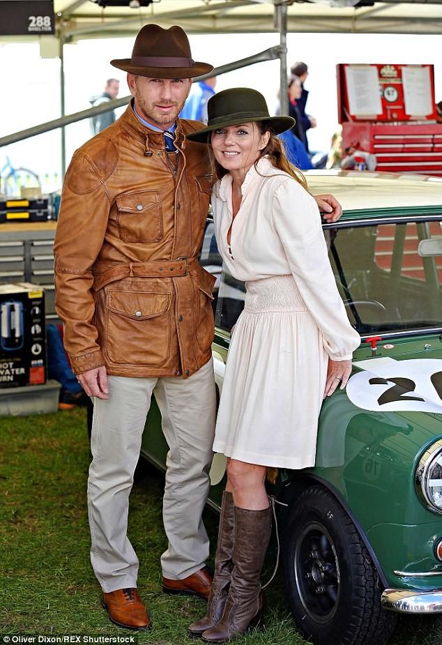 Christian Horner & Geri Halliwell