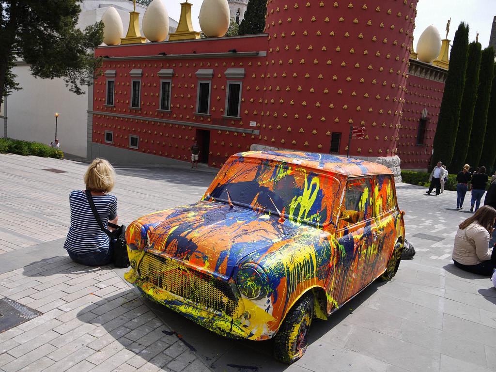Mini Art by Salvador Dali Museum