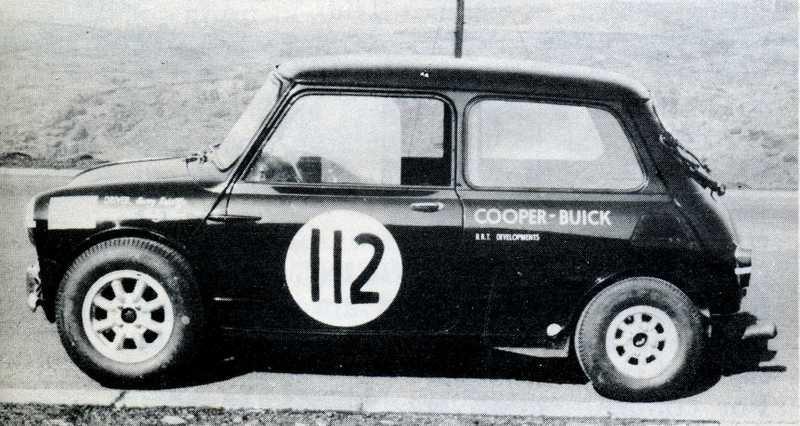 Mini Cooper Buick V8