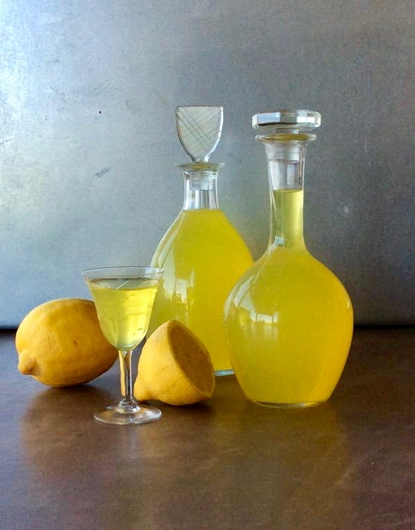 Le limoncello de la casa