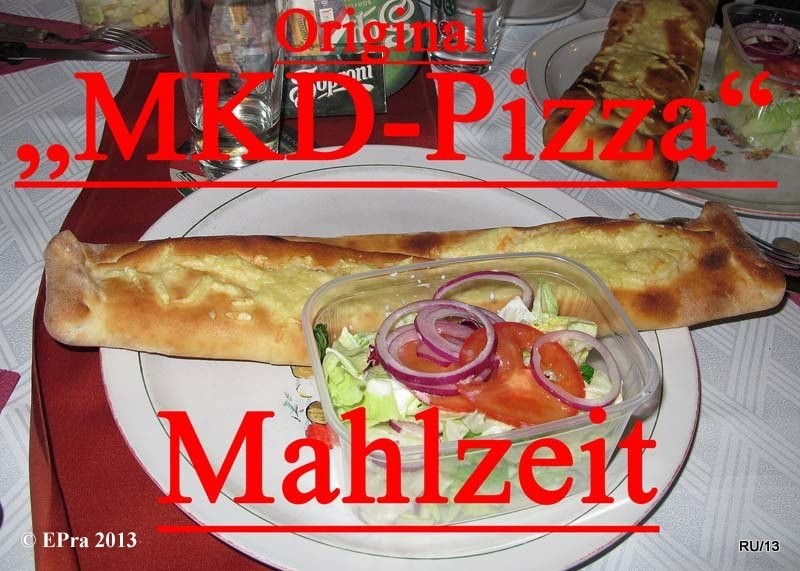 UND DANN DIE PIZZA- GESCHICHTE