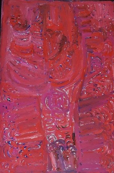 42 ソニア・クララ 「女性の儀礼」 97x66cm