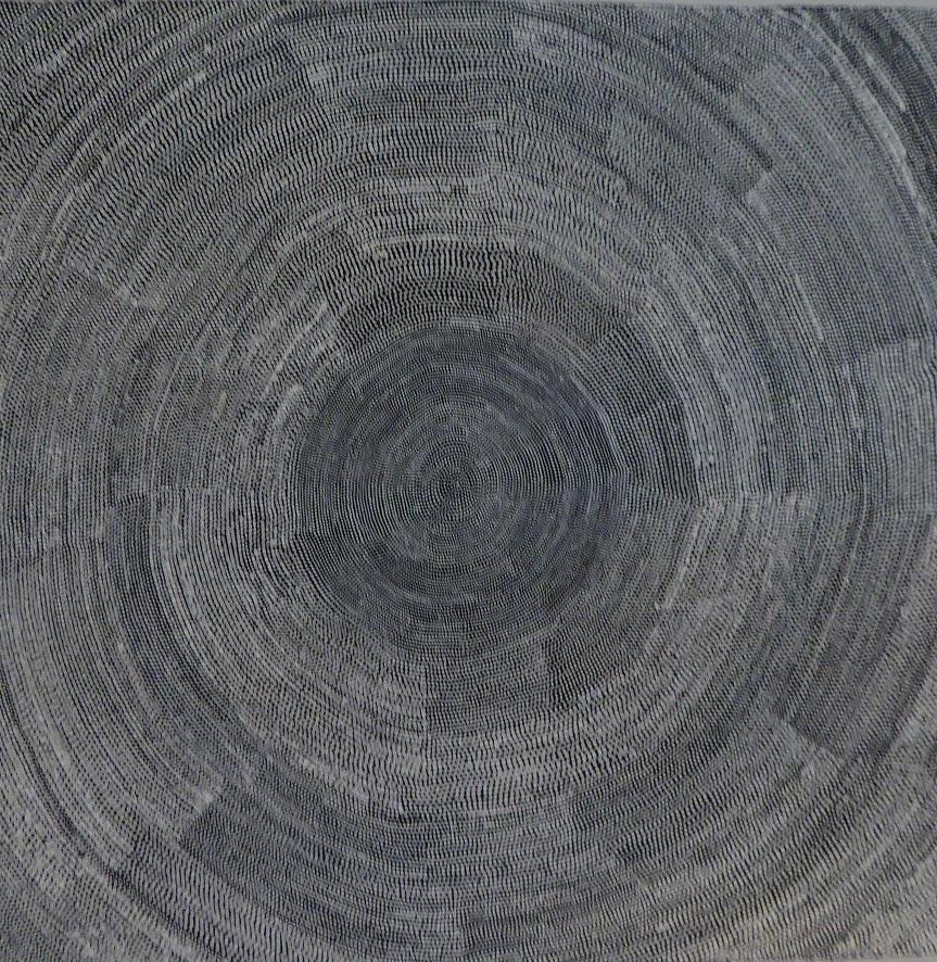 マリー・ロス・ナパルラ 「私の故郷」 70x70cm