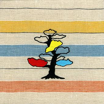 matsu 18×18cm 刺繍