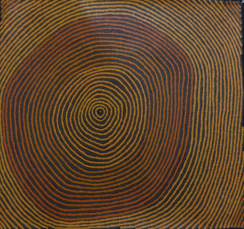 ブレンダ・ナパチャリ 「マイ・カントリー」 55x61cm
