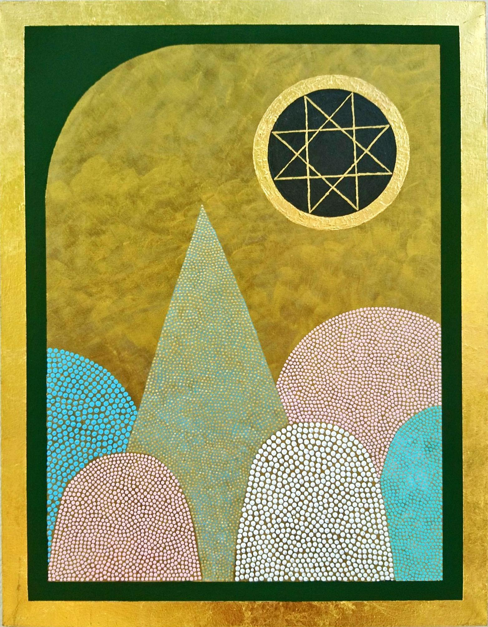 「ベツレヘムの星」 F6号 アクリル画