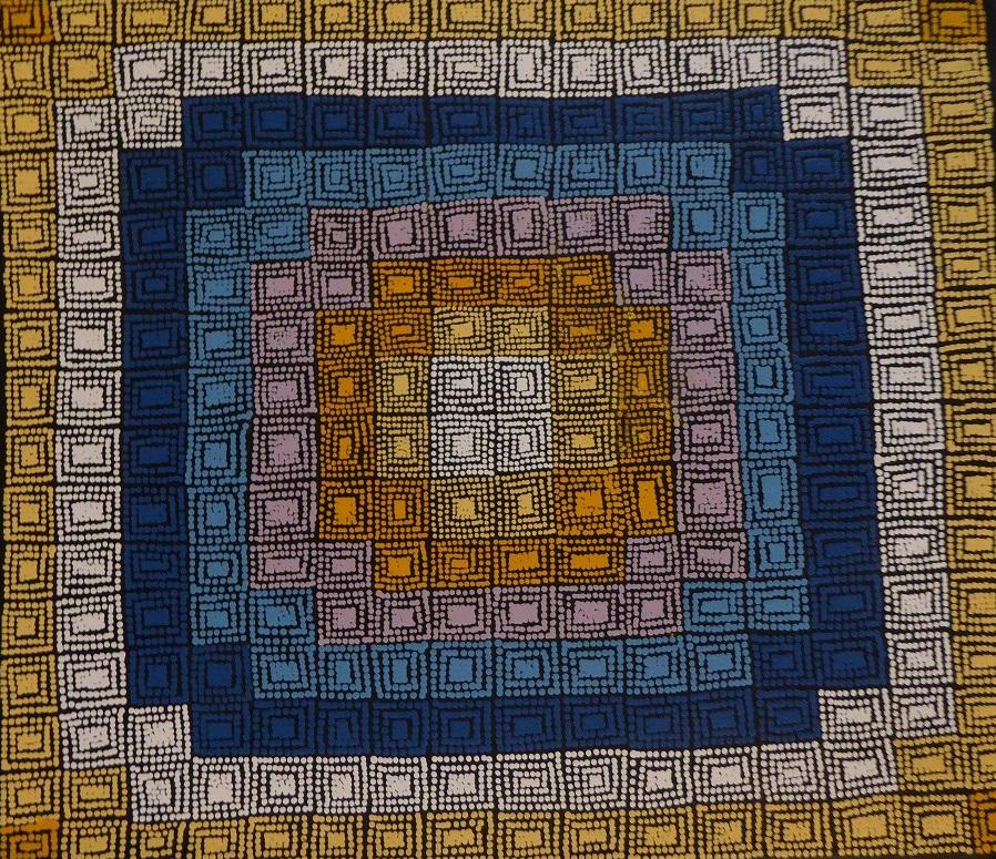 ジュリアン・ターナー 「ボディ・ペイント」 68x79cm